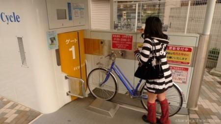подземная стоянка для велосипедов