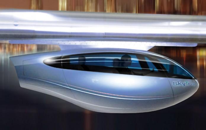 система магнитной левитации SkyTran