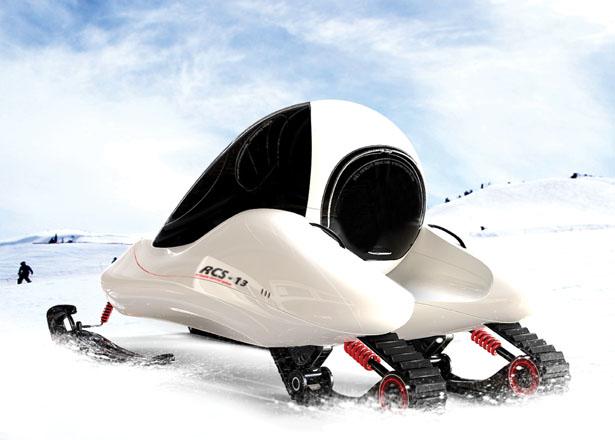 концепция снегохода