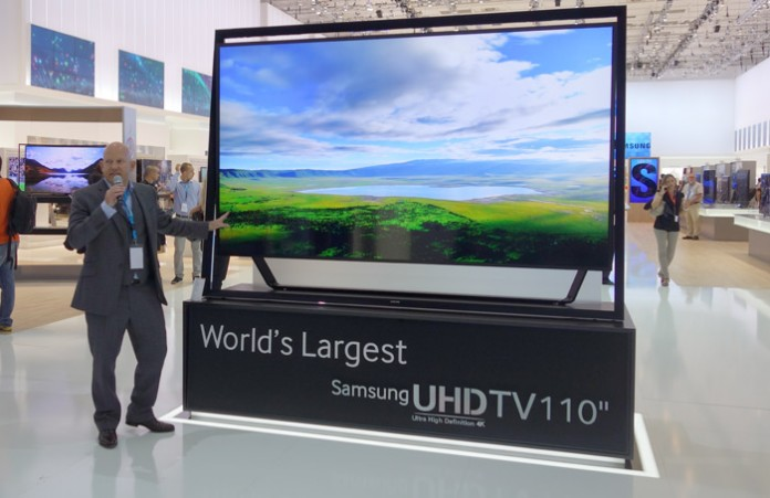 Телевизор Самсунг 110 дюймов
