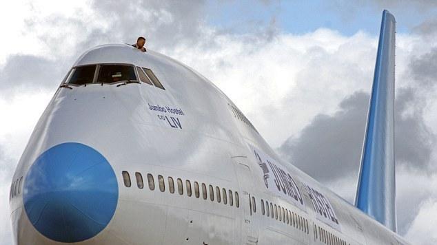 Самолет-отель