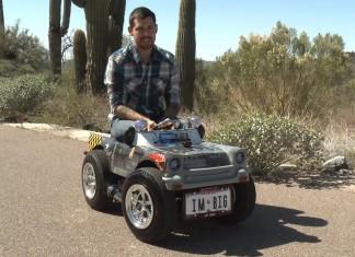 самый маленький функционирующий автомобиль в мире