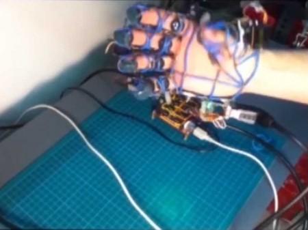 экзоскелет перчатки