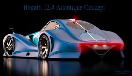 Концепт 2014 Bugatti Atlantique