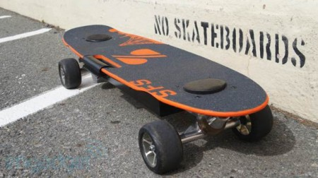Электрический скейтборд