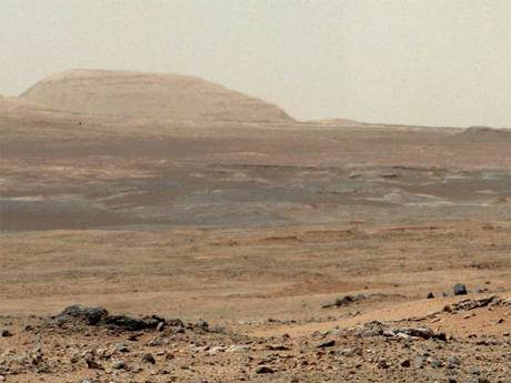 Mars, at Rover Curiosity, photographs have uncovered a hangar and pyramid in the Mount Sharp area 44412