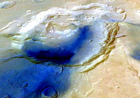 супервулканы на Марсе