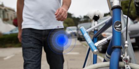 Электронный замок для велосипедов