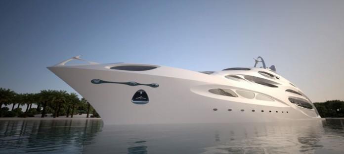Супер яхта