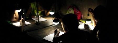 лампочка на солнечной энергии