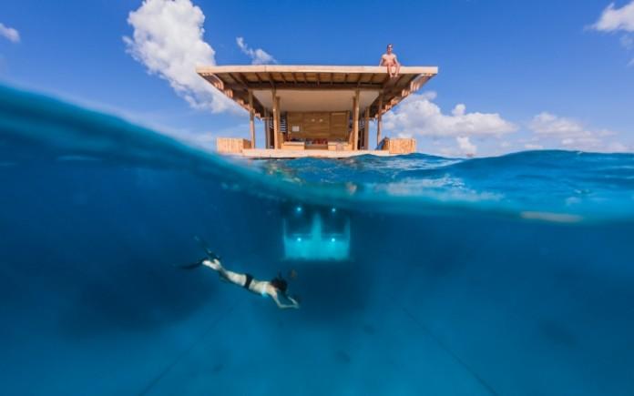 подводный отель