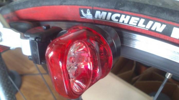 Лампа для велосипеда
