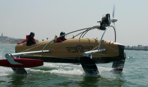 установить подводное крыло на лодку