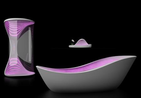 Иллюминированная ванная