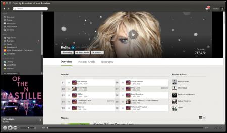 Spotify. Новый дизайн