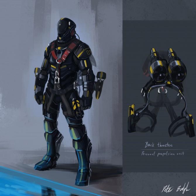 подводный джет-пак