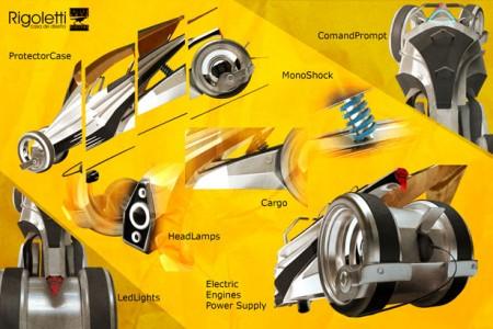 электромобиль Urbliner