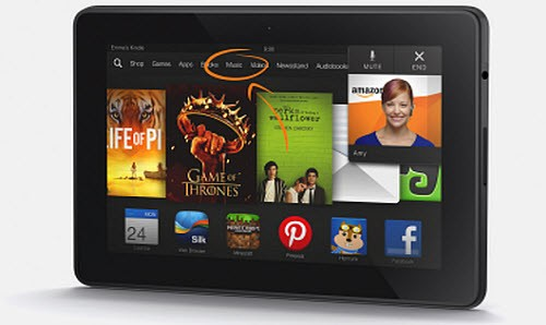 Удаление Kindle Fire HDX
