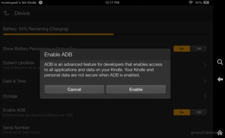 Удаление Kindle Fire HDX