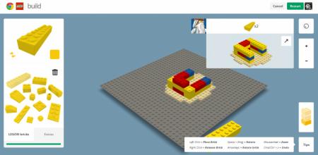 Chrome и Lego