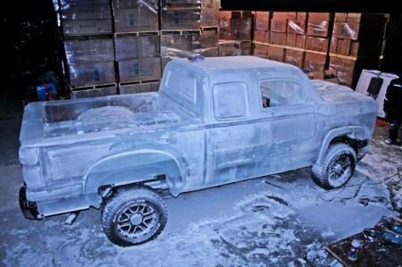 Ледовый автомобиль