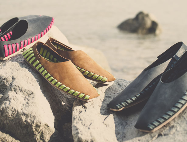 Осенние ботинки без каблука