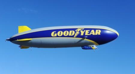Дирижабль от Goodyear