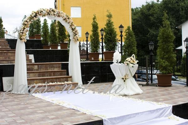 Выездная церемония в ресторане Верховина в Киеве