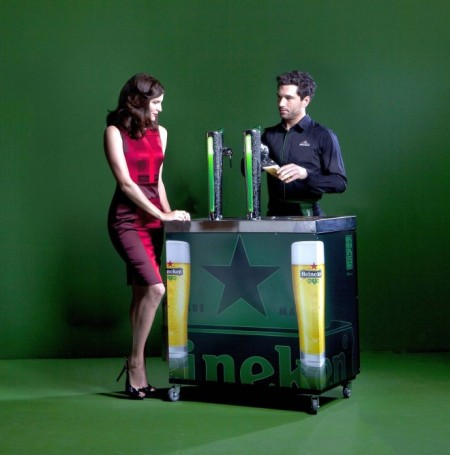 Heineken с David XL Green