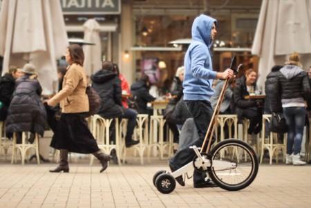 Минималистский  Halfbike, для лучшего обзора окружающего нас мира