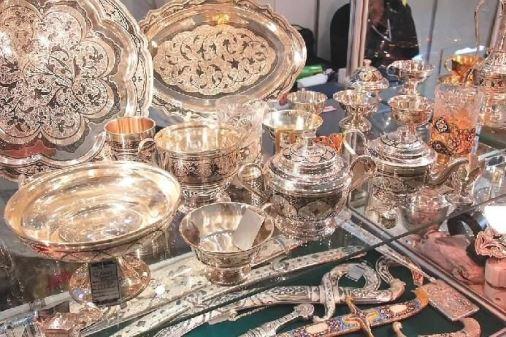 Столовые предметы из серебра