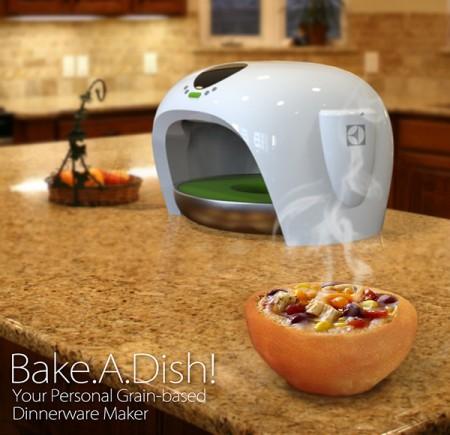 bake a dish