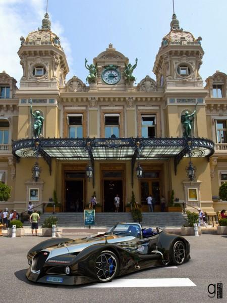 Новый спорткар от Bugatti