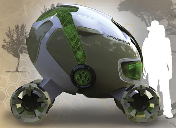 концепт автомобиля-инкубатора от дон-ву нама