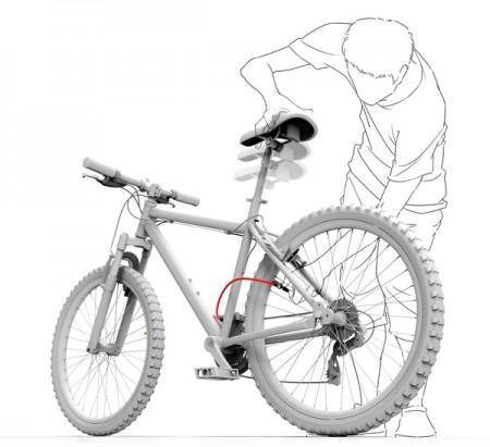 велосипед-насос