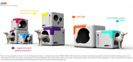 будка для собак Petris