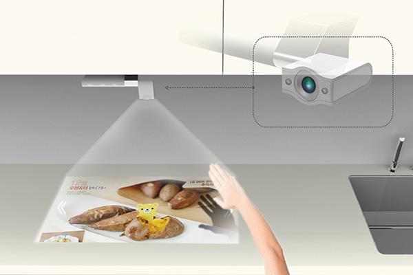 smart kitchen tv