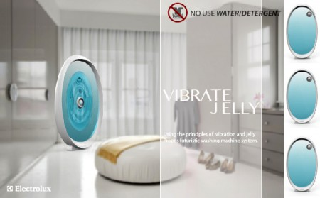Vibrate Jelly Laundry