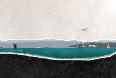 Сауна на воде