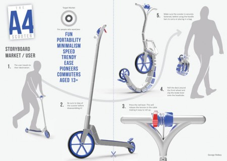 a4 scooter