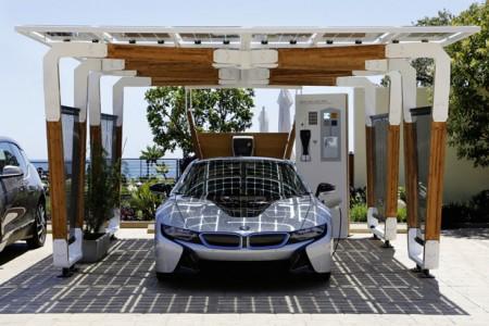bmw i solar carport