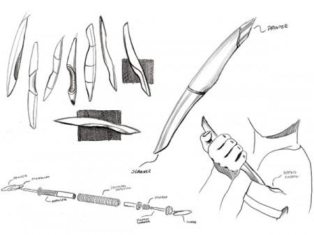 fabric pen