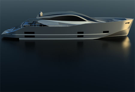 flaming ice yacht
