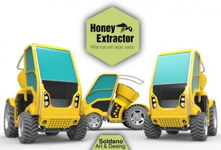 mobile honey extractor