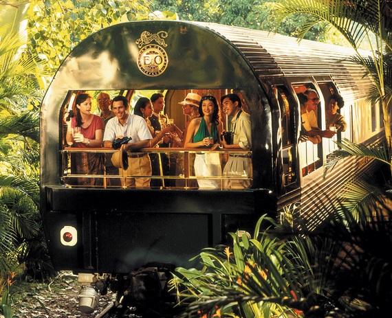 путешествовать поездом