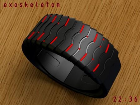 exoskeleton watch