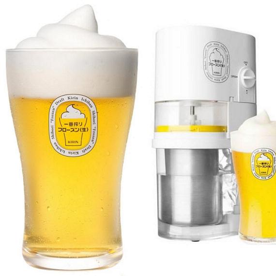 frozen beer slushie
