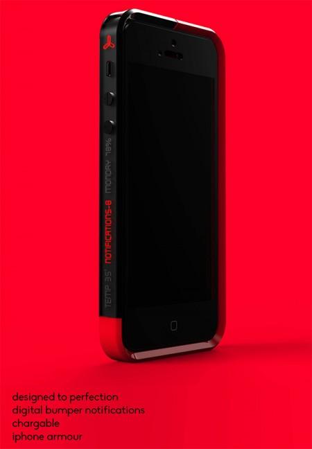 log phone bumper