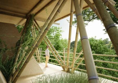 penda bamboo hotel