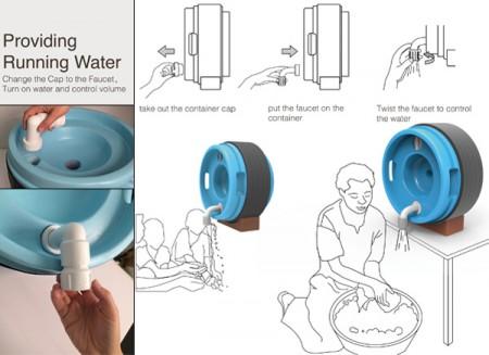 water roll
